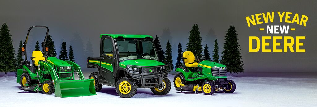 New Year New Deere Promotions Going On Now