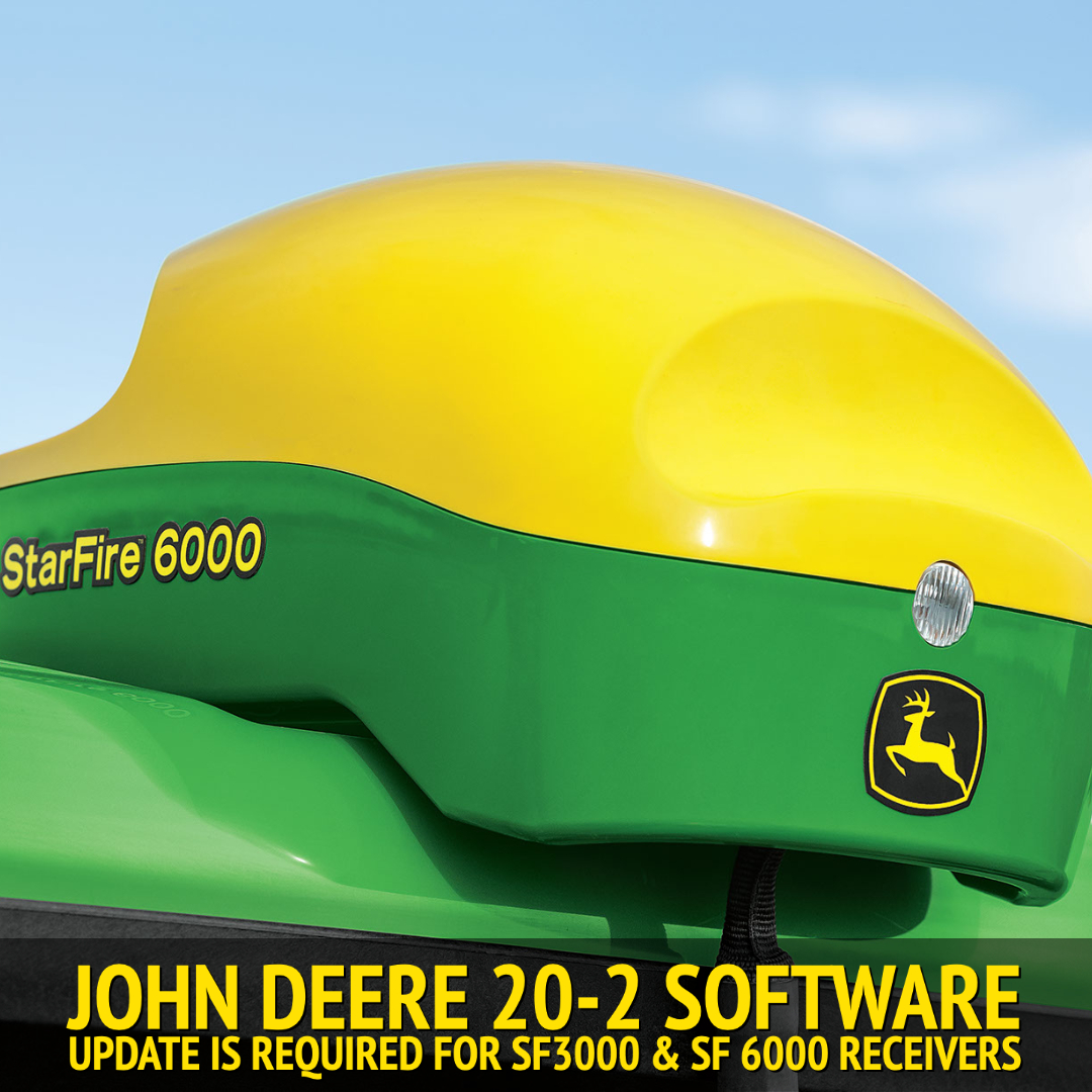 Mandatory John Deere 20-2 Software Update